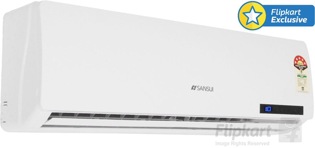 Sansui 1 Ton 5 Star Split AC White(A/C SSZ35, Aluminium Condenser)