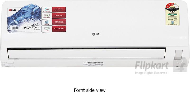 LG 1 Ton 3 Star Split AC White(LSA3NP3A)