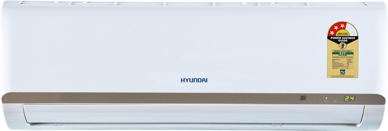 View Hyundai 1.5 Ton 3 Star Split AC  - White(HS4F53.GCR-CM, Copper Condenser)  Price Online