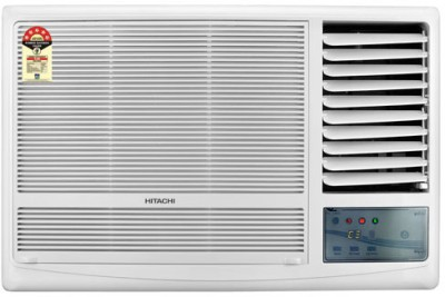 Hitachi 1.5 Ton 3 Star Window AC White(RAW318KUD)