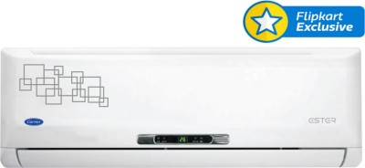 Carrier 1.5 Ton 5 Star Split AC White(18K Ester 5 Star)