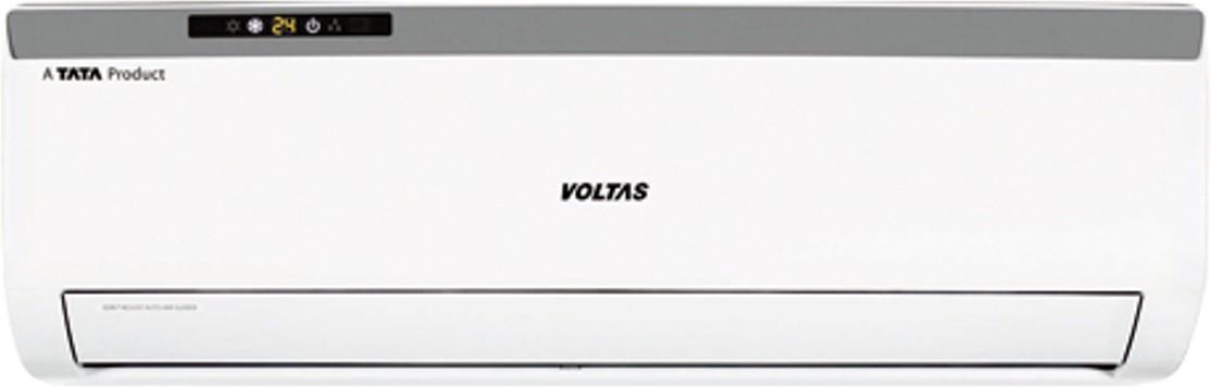 Voltas 1 Ton 5 Star Split AC White