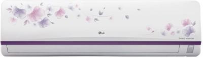 LG 1 Ton Inverter (3 Star) Split AC White -Flower(JS-Q12AFXD, Aluminium Condenser)