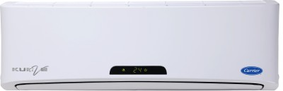 Carrier 1.5 Ton 4 Star Split AC White(18K KURVE)