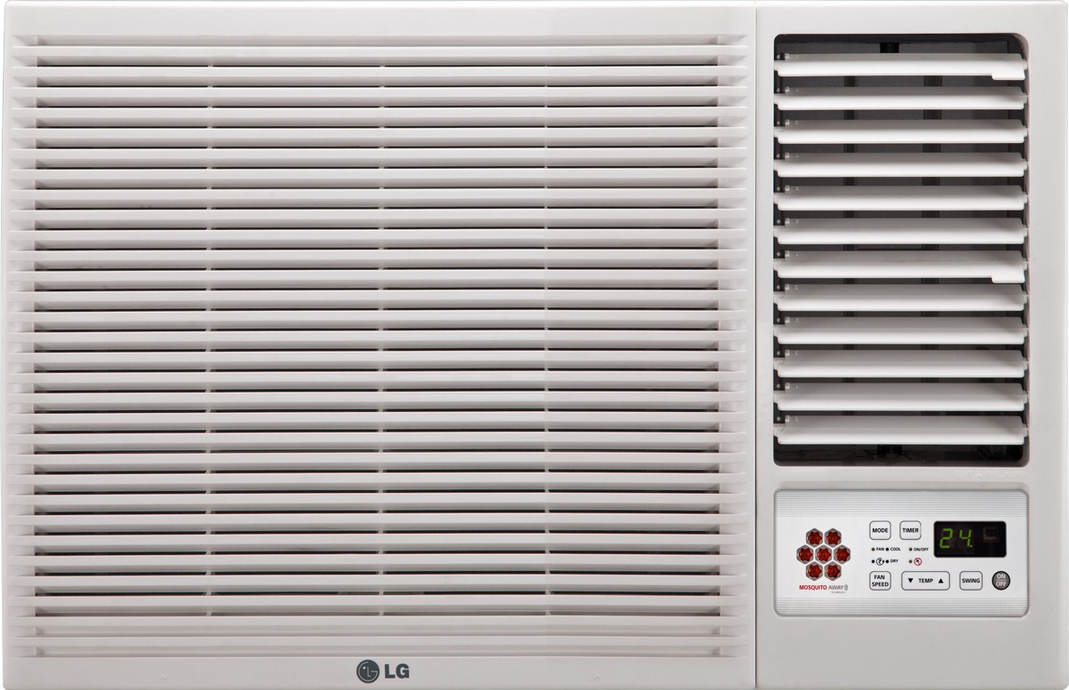 Lg 1 5 ton 3 star window ac white price in india 29 mar for 1 ton window ac price list 2013