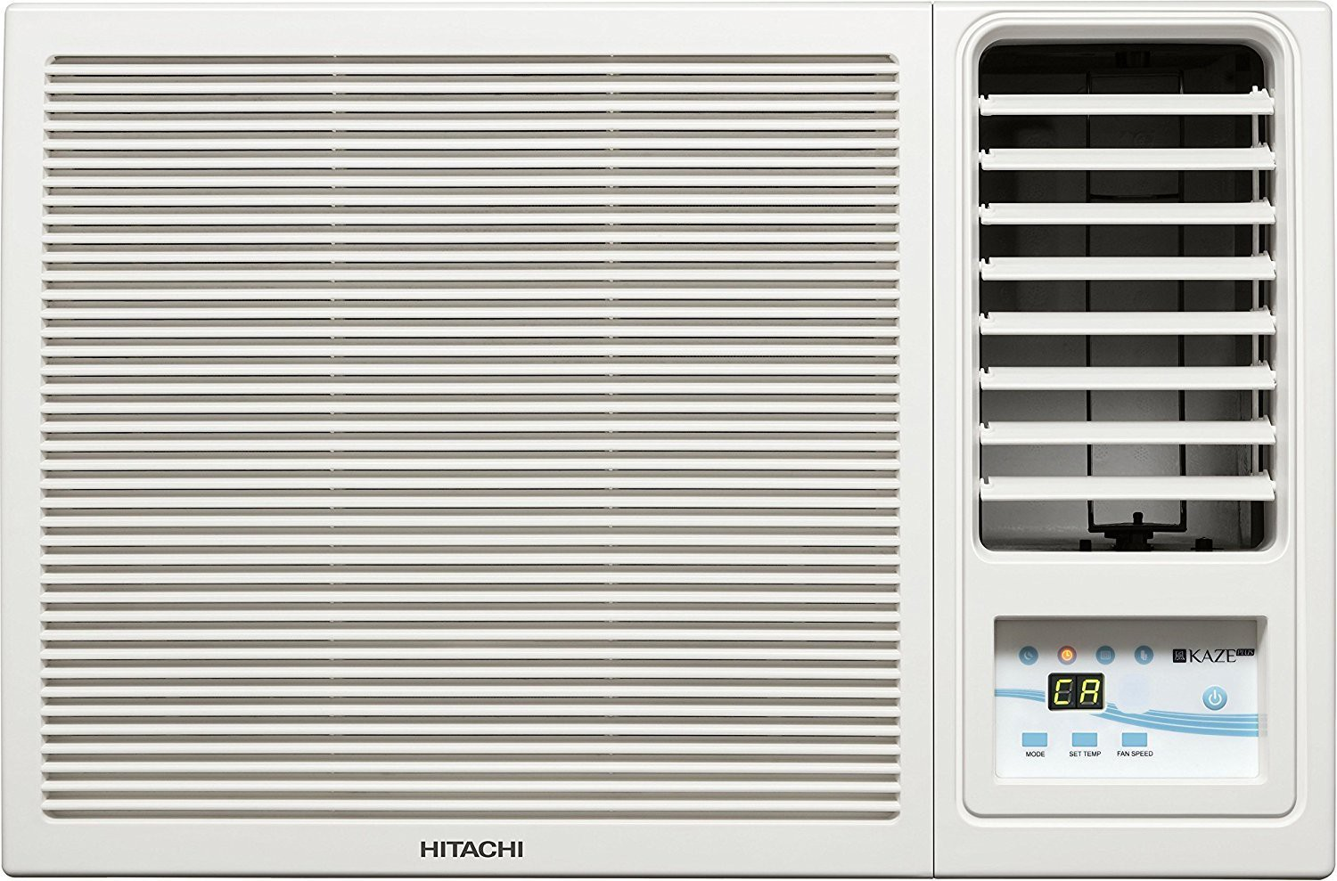 Hitachi 1 Ton 3 Star Window AC - White(RAW312KWD)