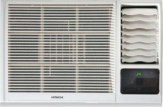 Hitachi 1.5 Ton 3 Star Window AC - White(RAW318KVDI)