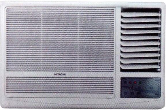 Hitachi 1 Ton 3 Star Window AC - White(RAW311KUD)