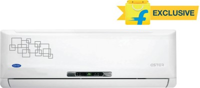Carrier 1.5 Ton 3 Star Split AC White(18K Ester 3 Star, Copper Condenser)