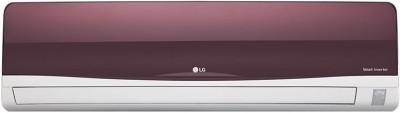 LG 1 Ton Inverter (3 Star) Split AC Red(JS-Q12WTXD, Aluminium Condenser)