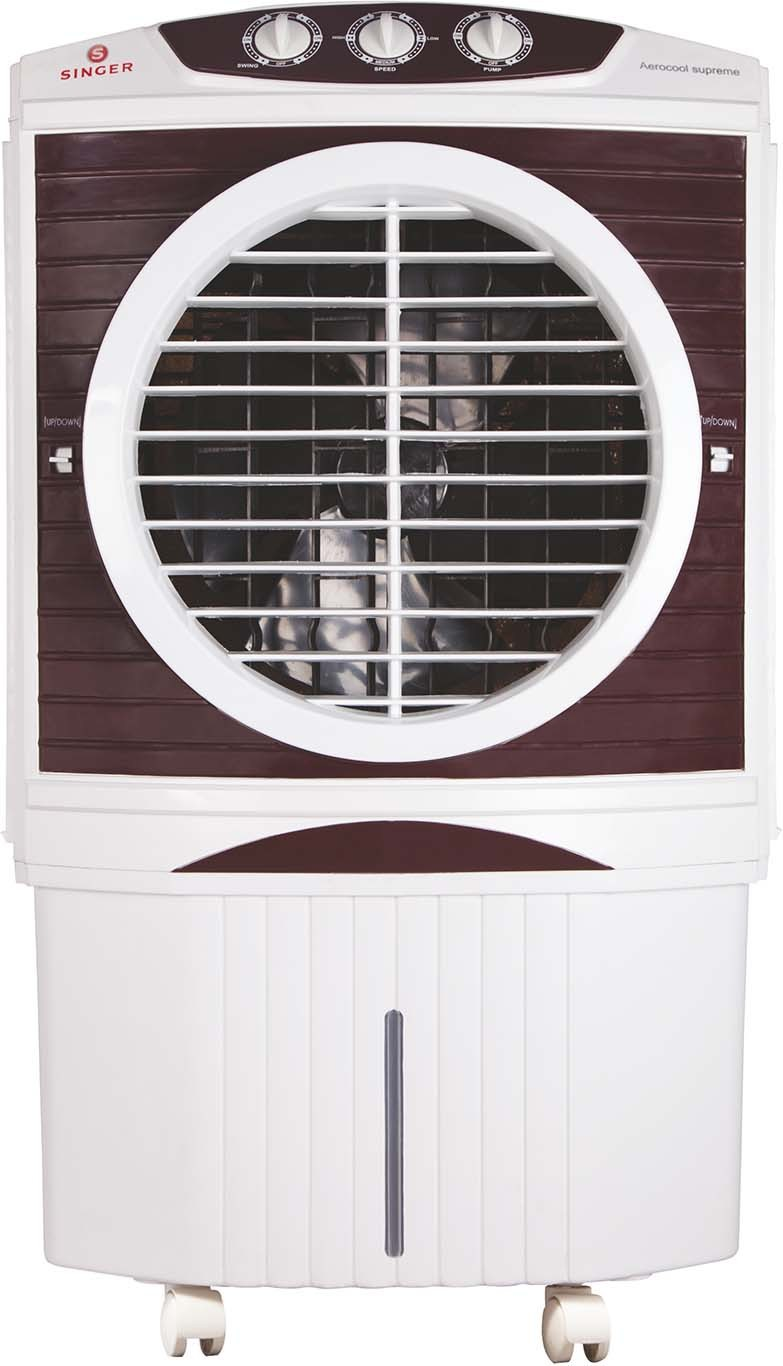 View Singer Aerocool Supreme Desert Air Cooler(White, 70 Litres)  Price Online