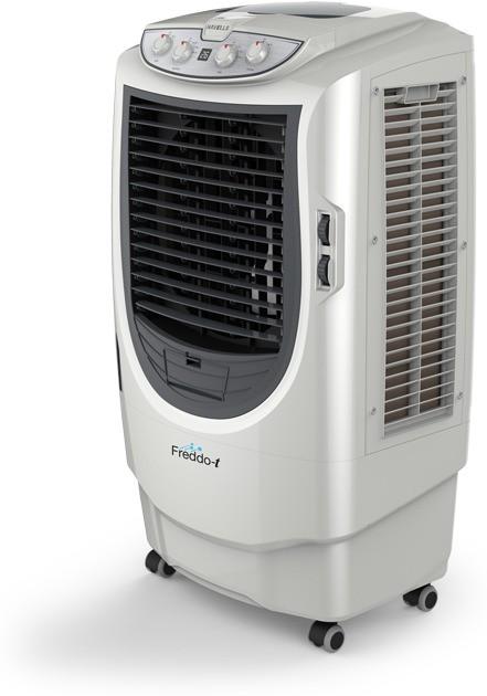View Havells Freddo t Desert Air Cooler(Grey, White, 70 Litres) Price Online(Havells)