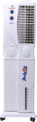 Singer Liberty Senior Tower Air Cooler (White, 34 L)