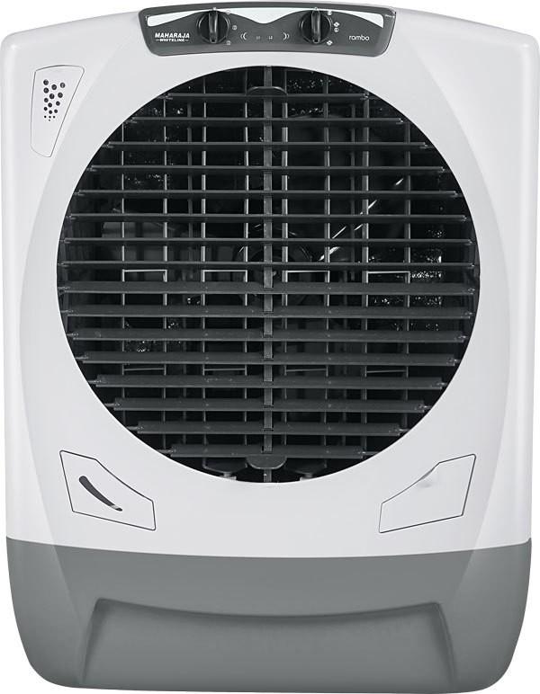 Maharaja Whiteline Rambo ( AC-303 ) Desert Air Cooler(White, Grey, 65 Litres)