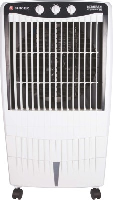 Singer Liberty Supreme DX Desert Air Cooler(White, 85 Litres)