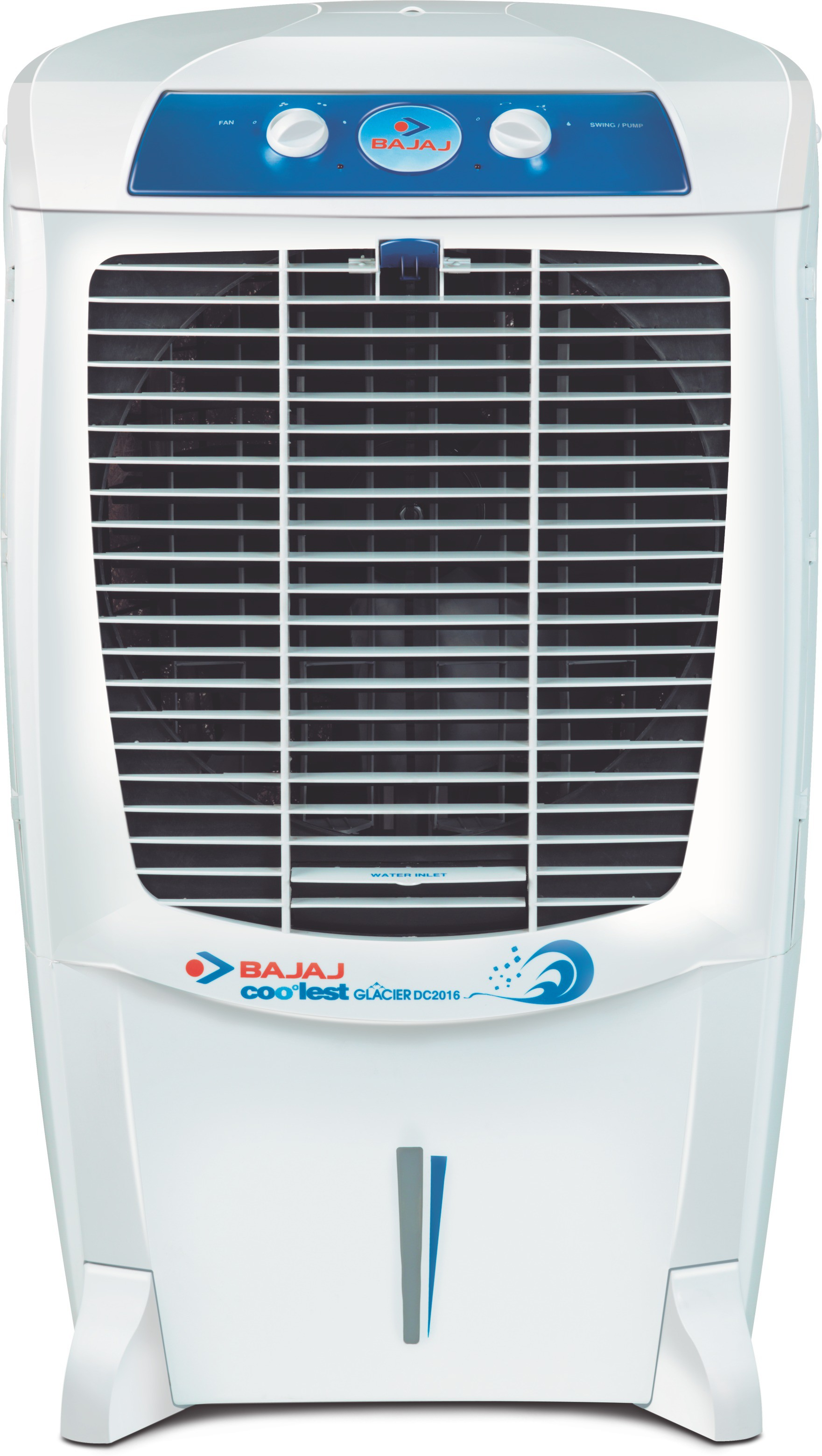 Bajaj Glacier DC 2016 Desert Air Cooler(White, 67 Litres)   Air Cooler  (Bajaj)