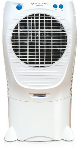 Bajaj Platini PX 100 DC Desert Air Cooler(White, 43 Litres)   Air Cooler  (Bajaj)