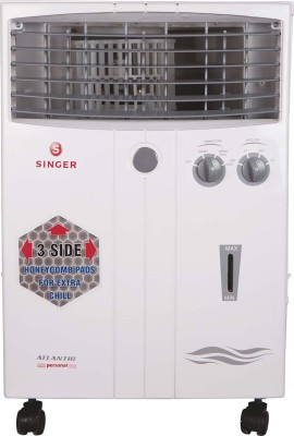 Singer Atlantic Personal Personal Air Cooler(White, 20 Litres)