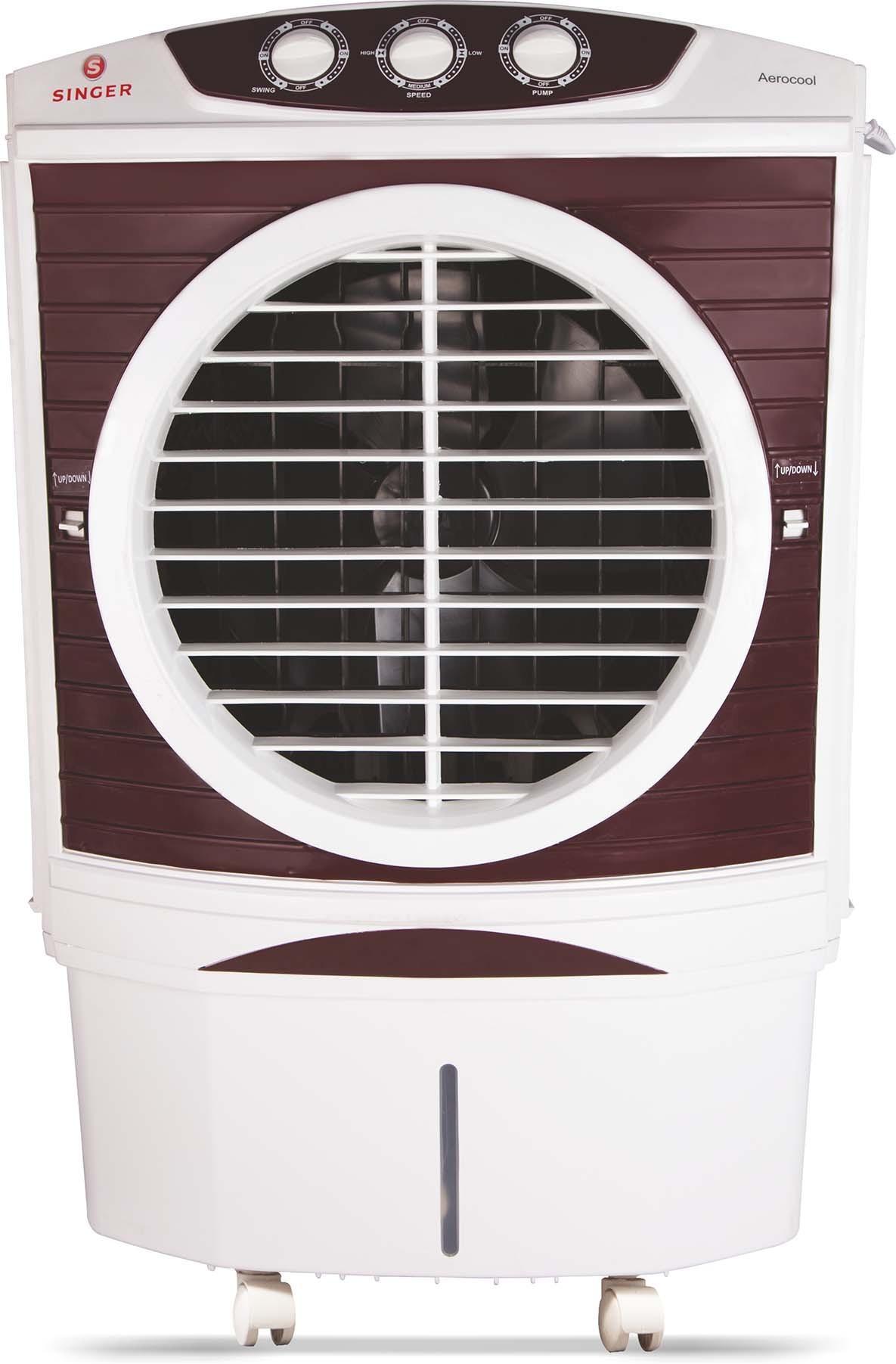 View Singer Aerocool Desert Air Cooler(White, 50 Litres)  Price Online