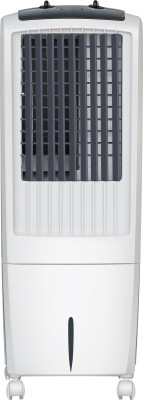 Maharaja Whiteline CO-102 Personal Air Cooler (White and Grey, 20 L)