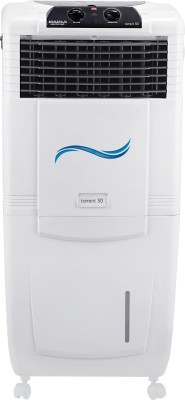 Maharaja Whiteline CO-122 Personal Air Cooler (White and Grey, 30 L)
