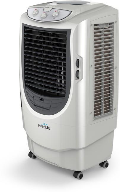 View Havells Freddo Desert Air Cooler(Grey, White, 70 Litres) Price Online(Havells)