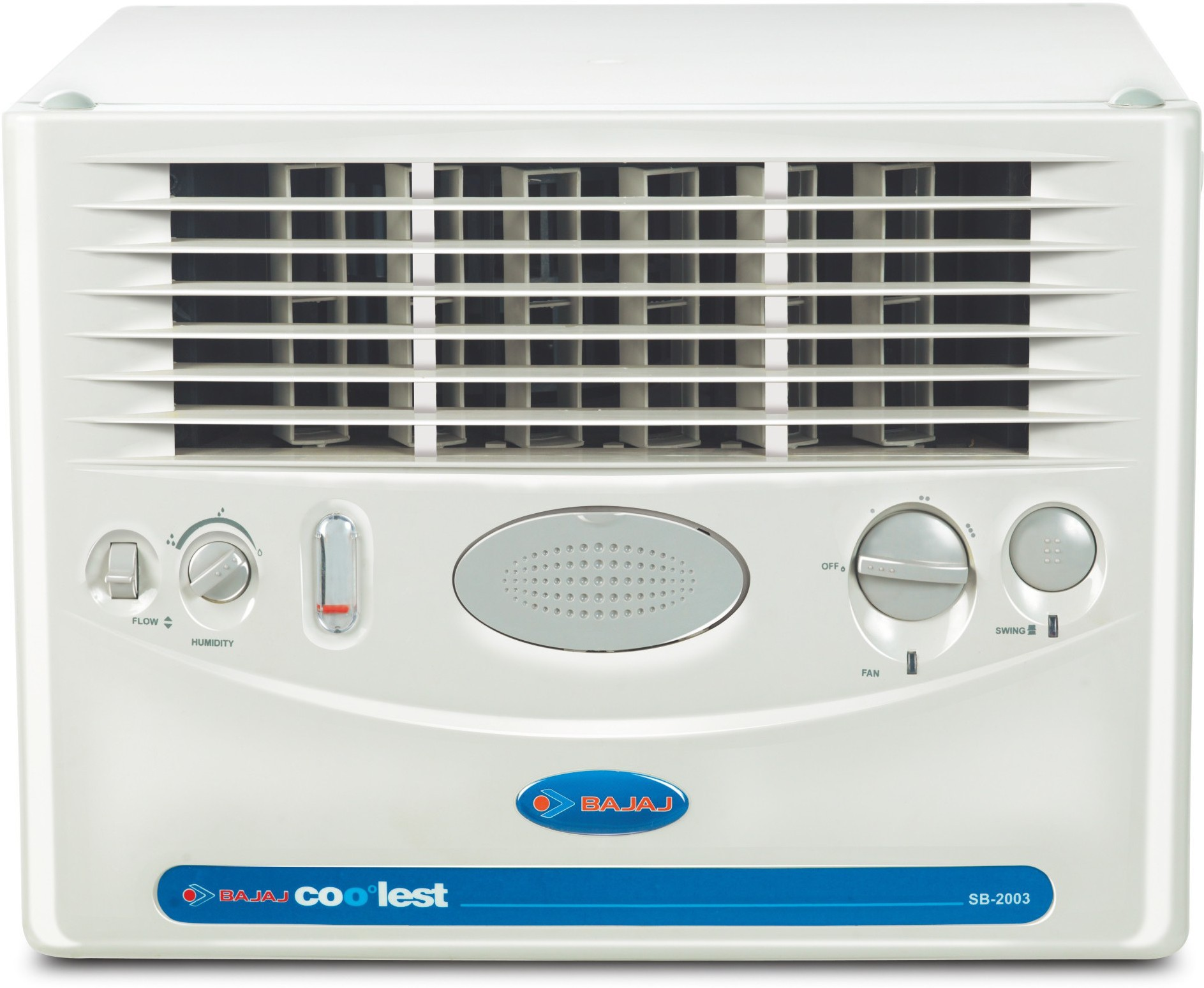 Bajaj SB 2003 Window Air Cooler(White, 32 Litres)   Air Cooler  (Bajaj)