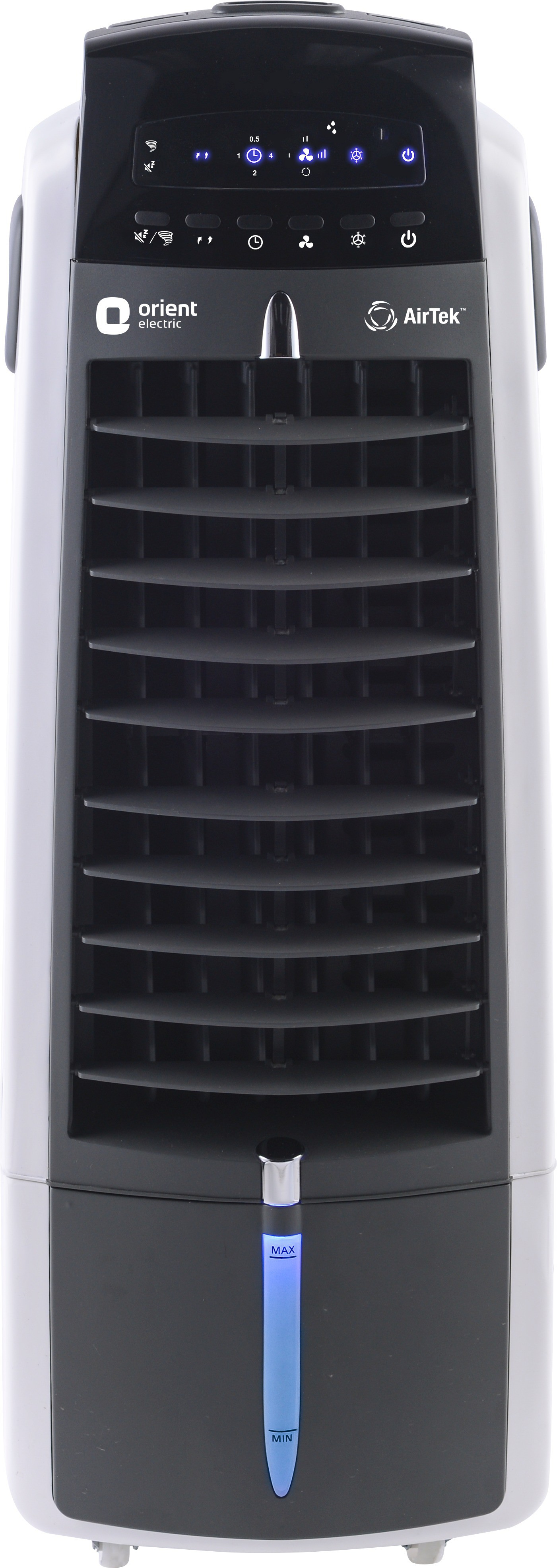View Orient Electric Airtek Personal Air Cooler(White, Grey, 7 Litres)  Price Online