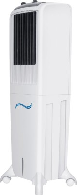 Maharaja Whiteline CO-103 Personal Air Cooler (White and Grey, 50 L)