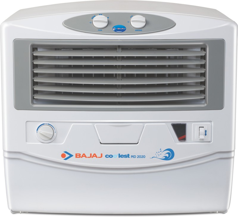 Bajaj MD 2020 Window Air Cooler(White, 54 Litres)
