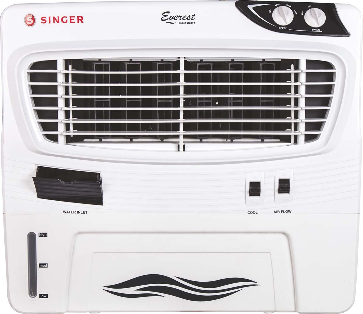 View Singer Everest Senior Personal Air Cooler(White, 50 Litres)  Price Online