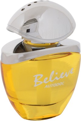 Autodoc - Believe - Luxury & Natural Fragrance - CK1 Type - Yellow - Air Freshener - Car Perfume Liquid(60 ml)