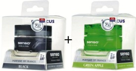 Dr. Marcus Senso Deluxe Gel Combo Black & Green Apple Liquid Air Freshener