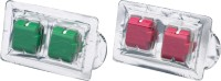 Ambicar Red Fruits ( Sweet & Fruity ) & Nature ( Fresh & Natural ) Electric car air freshener Combo Refill packs Car Perfume Bar(22 g)