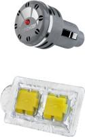 Ambicar Ambicar Limoncello ( Citric & Refreshing ) Insilver Electric Car Air Freshner (55g) Car Perfume Bar(55 G) Image