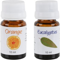 Divine Miracles Orange & Eucalyptus Home Liquid Air Freshener(20 ml)