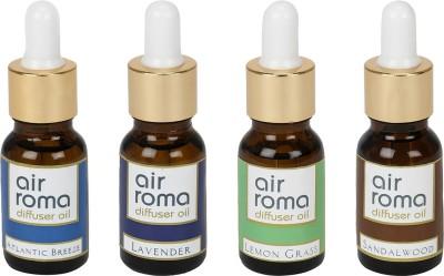 AirRoma Atlantic Breeze, Lavender, Lemon Grass, Sandalwood Home Liquid Air Freshener(120 ml)