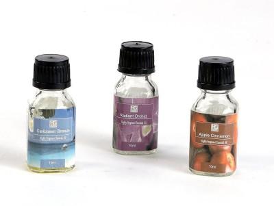 Hosley Apple Cinnamon, Radiant Orchid, Caribbean Breeze Home Liquid Air Freshener(10 ml)
