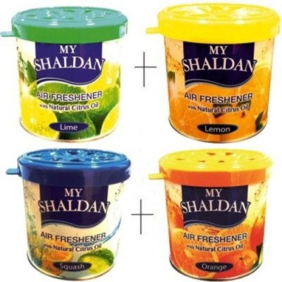 My Shaldan Lemon, Squash, Orange, Natural Car  Perfume Gel