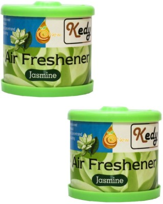eNew Kedy Car & Care Accessory Combo KC8 Jasmine Liquid Air Freshener