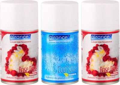 Airance Rose Petals, Cool Splash Home Liquid Air Freshener