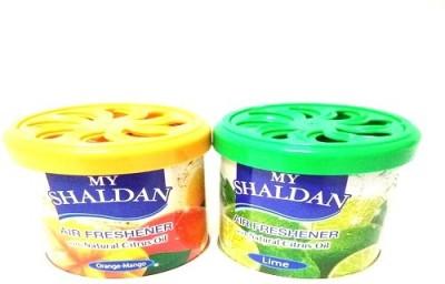 My Shaldan Orange-Mango, Lime Car Perfume Gel(160 g)