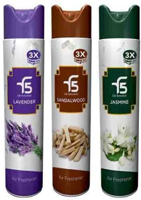 F5 Lavender, Sandalwood, Jasmine Home Liquid Air Freshener