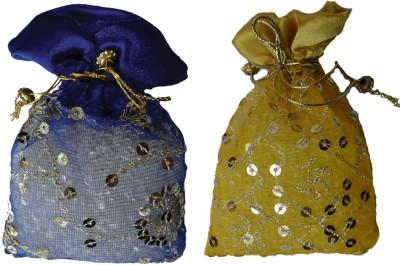 Miracle Perfume Potli - Set of 2 Seven Flower and Keora Car  Perfume Gel