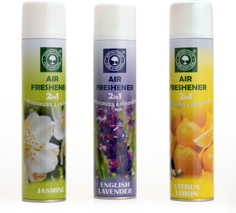 Aromatree Citrus Lemon Home Liquid Air Freshener(300 ml)