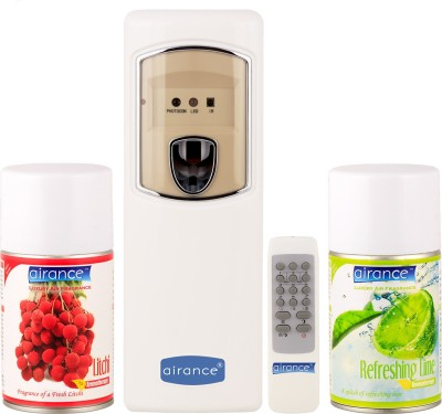 Airance Litchi, Refreshing Lime Home Liquid Air Freshener(250 ml)