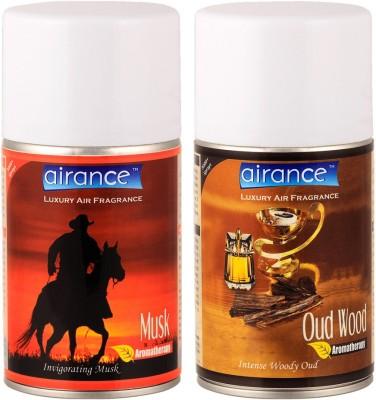 Airance Musk, Oud Wood Home Liquid Air Freshener(250 ml)