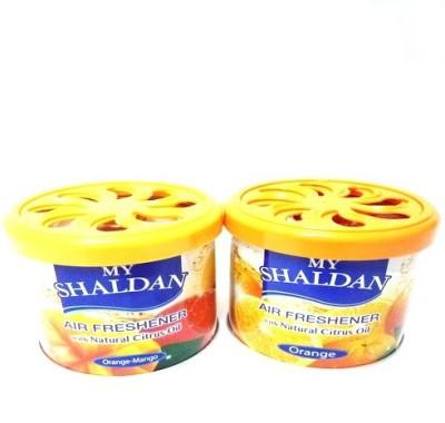 My Shaldan Orange-Mango, Orange Car Perfume Gel(160 g)