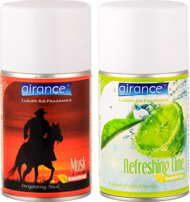 Airance Musk, Refreshing Lime Home Liquid Air Freshener(250 ml)