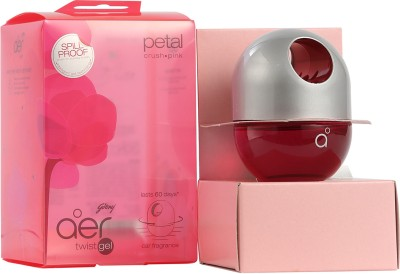 Godrej Petal/ Crush Pink Car Perfume Liquid(45 g)